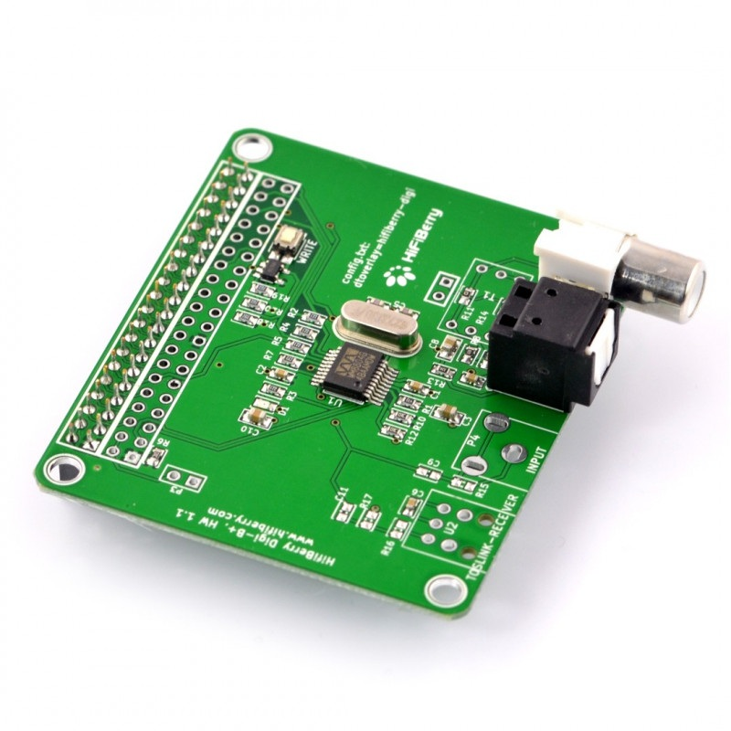HiFiBerry Digi+ standard - karta dźwiękowa do Raspberry Pi