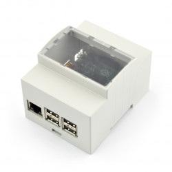 Obudowa Raspberry Pi Model 2B/B+/A na szynę DIN