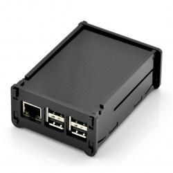 Obudowa Raspberry Pi Model B+ czarna z klapką