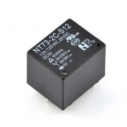Przekaźnik NT73-2C-S12 - cewka 5V, styki 2x 12A/125VAC