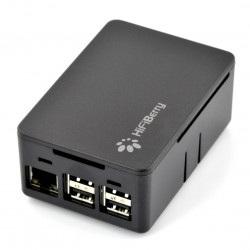 Obudowa do HiFiBerry i Raspberry Pi Model 2B/B+ uniwersalna czarna