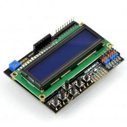 DFRobot LCD Keypad Shield v1.1- wyświetlacz dla Arduino
