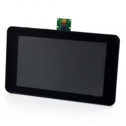 Obudowa do Raspberry Pi, dedykowanego ekranu 7'' i kamery - Premium Case