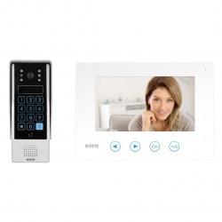 Eura-tech Eura VDP-10A3 Jupiter - wideofon + kaseta zewnętrzna - biały