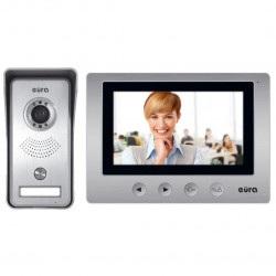 Eura-tech Eura VDP-33A3 Luna - wideofon + kaseta zewnętrzna