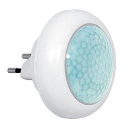 Eura-tech Eura ML-08A8 - lampka nocna LED z czujnikiem ruchu i zmierzchu 230V