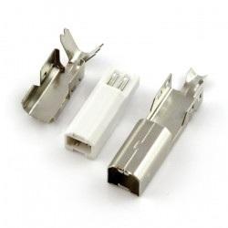 Wtyk USB typu B na przewód