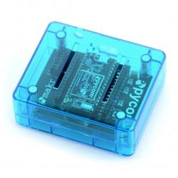 Pycase Blue - obudowa do modułu WiPy oraz Expansion Board - niebieska
