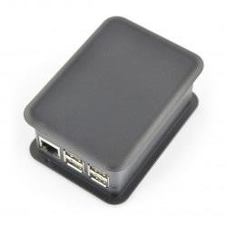 Obudowa TEKO dla Raspberry Pi Model 3/2/B+ z nakładką GPIO - czarna