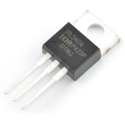N-MOSFET IRL540NPBF - THT