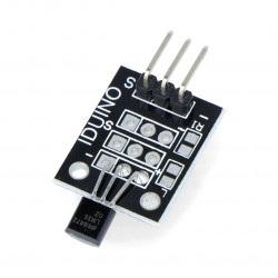 Moduł z czujnikiem temperatury LM35