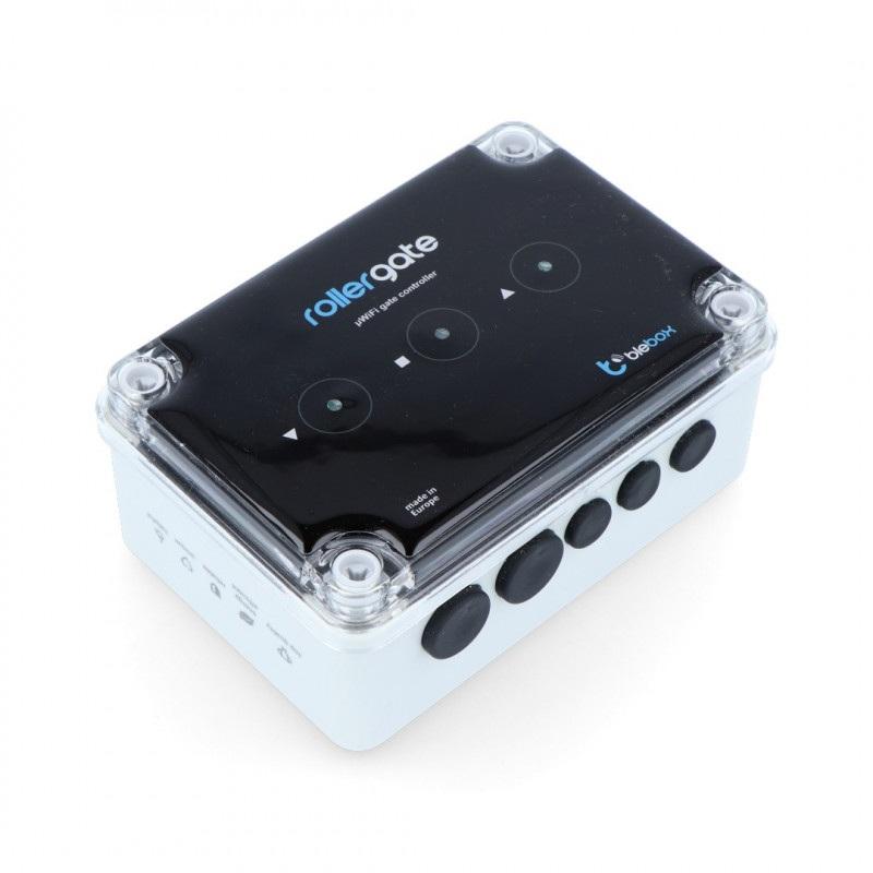 BleBox RollerGate - sterownik bram rolowanych 230V WiFi - aplikacja Andoid / iOS