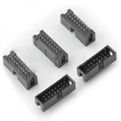 Wtyk IDC 16 pin prosty - 5 szt.