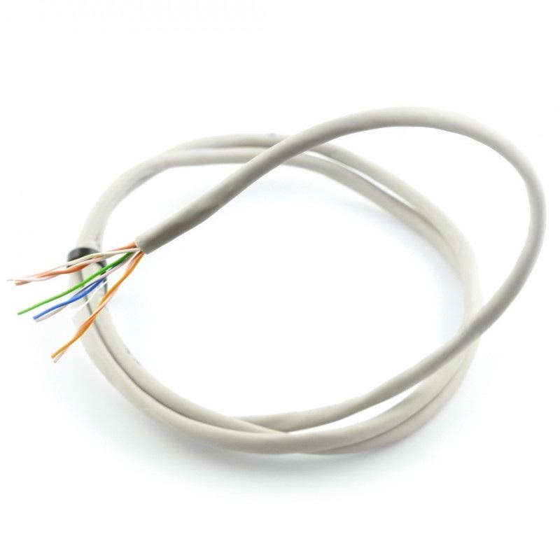 Przewód skrętka drut UTP Kat. 5e - 20m