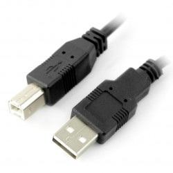 Przewód USB A - B - 3m