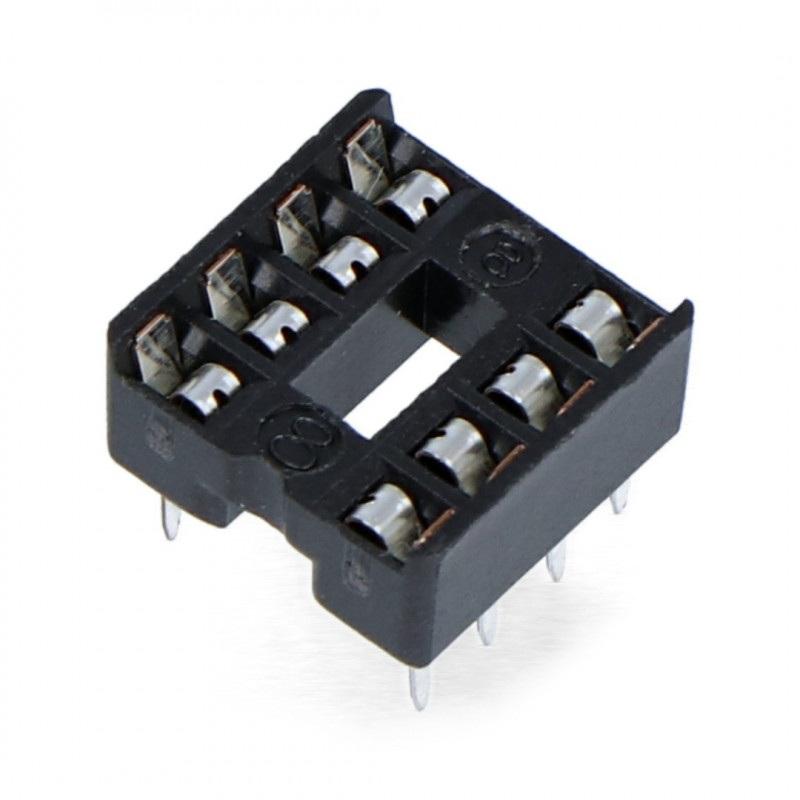 Podstawka do układów DIP 8 pin zwykła - 5 szt.