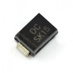 Dioda Schottky SK16 SMD