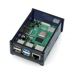Obudowa Raspberry Pi Model 4B - czarna - LT-4B15
