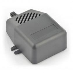Obudowa plastikowa Kradex Z92U - 85x78x32mm czarna z uszami