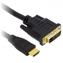 Przewód HDMI - DVI-D - dł....