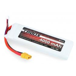 Pakiet Li-Pol Redox 4000mAh 30C 2S 7,4V