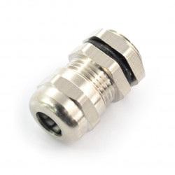 Przepust kablowy metalowy - gwint M12