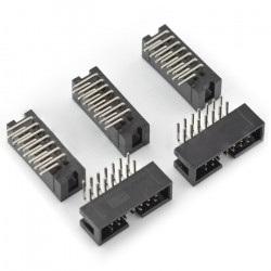 Wtyk IDC 14 pin kątowy - 5 szt.