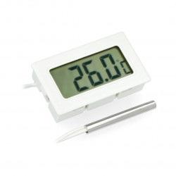 Termometr panelowy z wyświetlaczem LCD od - 50°C do 290°C