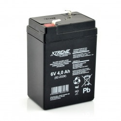 Akumulator żelowy 6V 4Ah Extreme