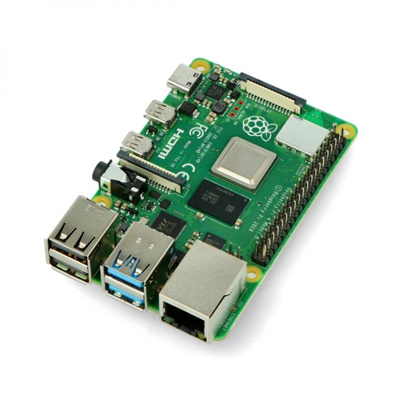 Raspberry Pi 4 model B WiFi Dual Band Bluetooth 2GB RAM 1,5GHz