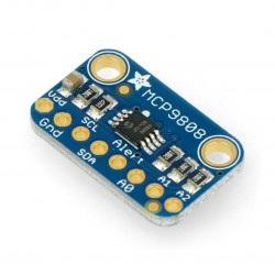 Moduł z czujnikiem temperatury wysokiej precyzji MCP9808 I2C - Adafruit