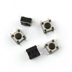 Tact Switch 6x6mm / 4,3mm SMD - 5szt
