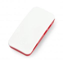 Obudowa Raspberry Pi Zero oficjalna - czerwono-biała