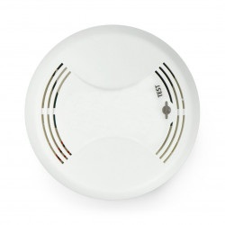 Detektor / czujnik dymu XD10 z sygnalizatorem dźwiękowym