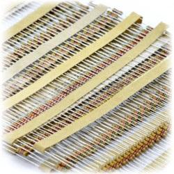 Zestaw rezystorów CF THT 1/4W opisany - 330szt.