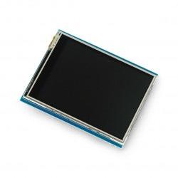 Wyświetlacz dotykowy 2.8'' TFT Shield dla Arduino - Adafruit
