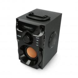 Głośnik bluetooth UGO soundcube 10W RMS - czarny