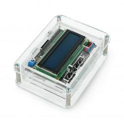 Obudowa do Arduino Uno z LCD Keypad Shield