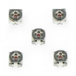 Potencjometr leżący SMD 3x3mm - 2k Ohm - 5szt.