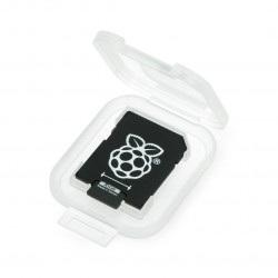 Karta pamięci Panasonic microSD 16GB 40MB/s klasa 10 + system Raspbian dla Raspberry Pi 4B/3B+/3B/2B/Zero