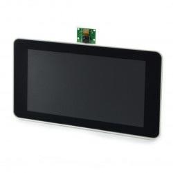 Obudowa do Raspberry Pi, dedykowanego ekranu 7'' i kamery - Premium Case biała