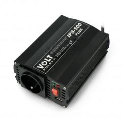 Przetwornica DC/AC step-up 24VDC / 230VAC 250/500W - samochodowa - Volt IPS-500 Plus