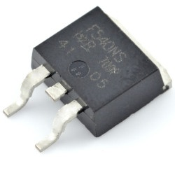 N-MOSFET IRF540NS 100V/33A - SMD