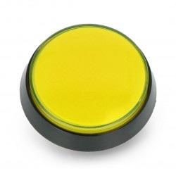 Push Button 6cm - żółty (wersja eko2)