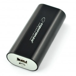 Mobilna bateria PowerBank Esperanza Hadron EMP105K 4400mAh