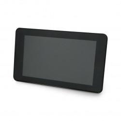 """Obudowa do Raspberry Pi 4B i ekranu dotykowego 7"""" - czarna"""