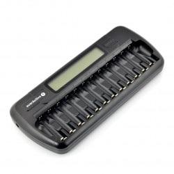 Ładowarka akumulatorów everActive NC1200 - AA, AAA - 1 do 12 sztuk
