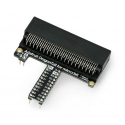 Adafruit adapter dla modułów Micro:bit ze złączami do płytki stykowej - DragonTail for micro:bit