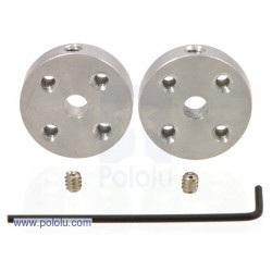 Aluminiowy hub mocujący  6mm