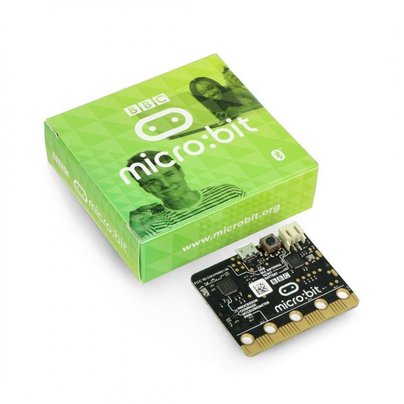 Micro:bit - moduł edukacyjny, Cortex M0, akcelerometr, Bluetooth, matryca LED 5x5
